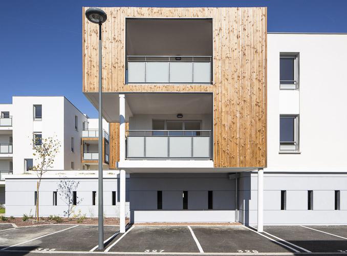 Photographie de la résidence Le Paseo à Balma pour Vinci Immobilier