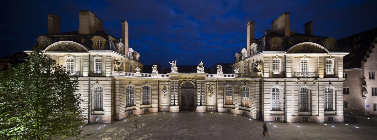 Palais Rohan, Place du Château