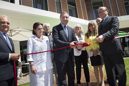 Inauguration des Jardins d'Isaure