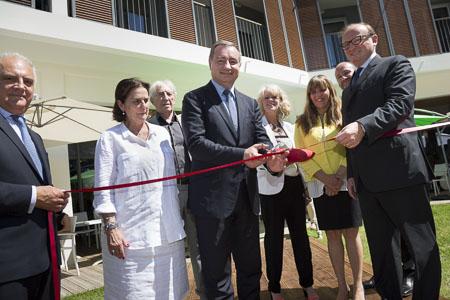 Inauguration des Jardins d'Isaure