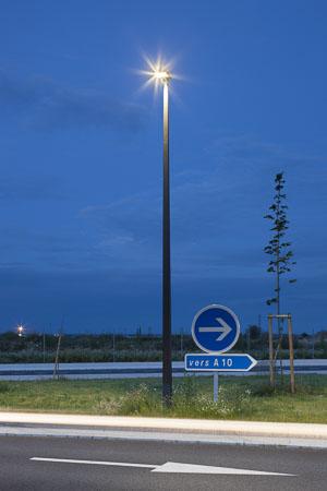 Aire d'autoroute de Jaunay-Clan - Client: Aubrilam