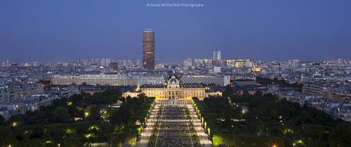 photographe éclairage-Tour Montparnasse