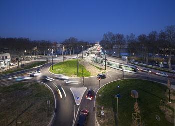 Reportage de nuit pour BSO à Toulouse (éclairage public et SLT)