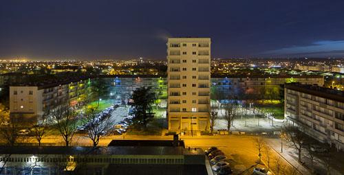 Reportage architecture de nuit pour Habitat Toulouse