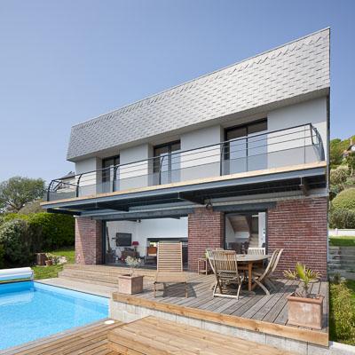 photographe architecture-Villa Vincent, Fecamp