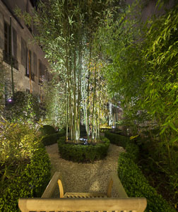 Photo de jardin par David Aubert photographe d'architecture à Toulouse