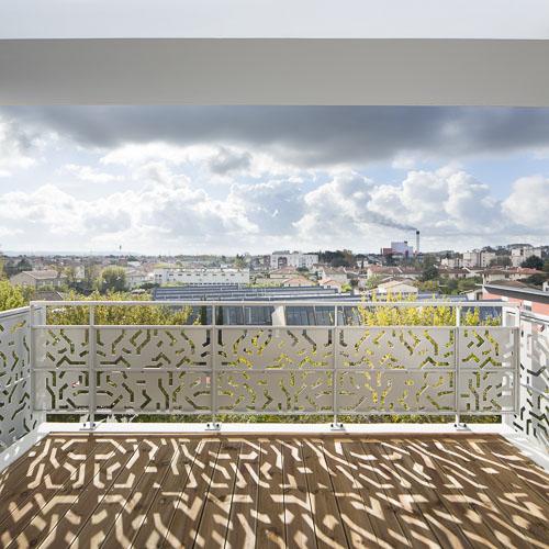 vue sur Toulouse - Photographe Architecture