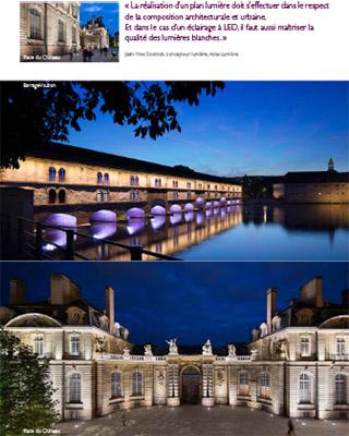Strasbourg de nuit pour Philips - Photographe Eclairage Mise en valeur