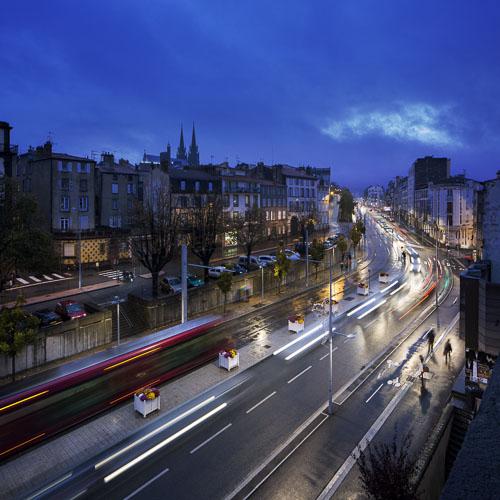 Éclairage à Clermont-Ferrand