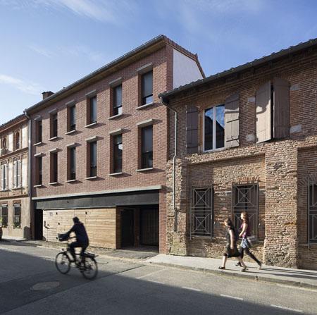 Architecture: Résidence UniversCity à Toulouse