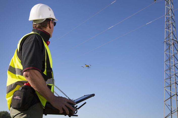 Contrôle vétusté réseau par drone - Photographe corporate