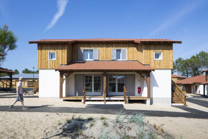 Résidence Le domaine des dunes à Mimizan - Photographe d'architecture