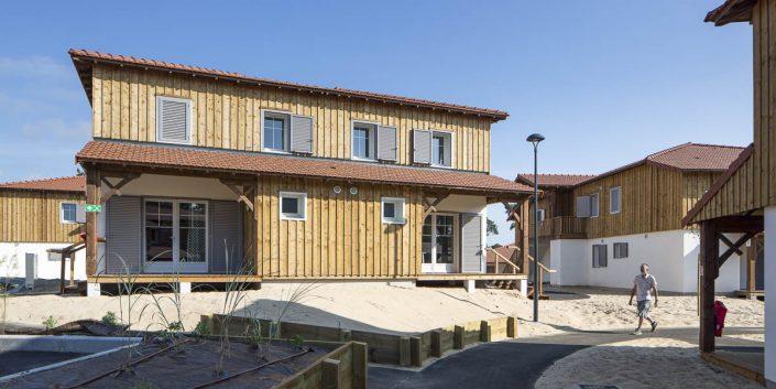 Reportage Architecture à  Mimizan au domaine des dunes pour Vinci Immobilier - Photographe d'architecture