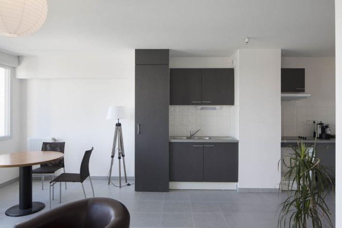 Reportage architecture sur Résidence Première Loge à Toulouse pour Vinci Immobilier - Photographe Architecture Intérieure