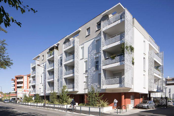 Résidence Pythagore, Toulouse - Photographe d'architecture