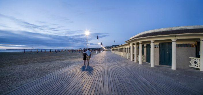 Deauville - Photographe Architecture nuit