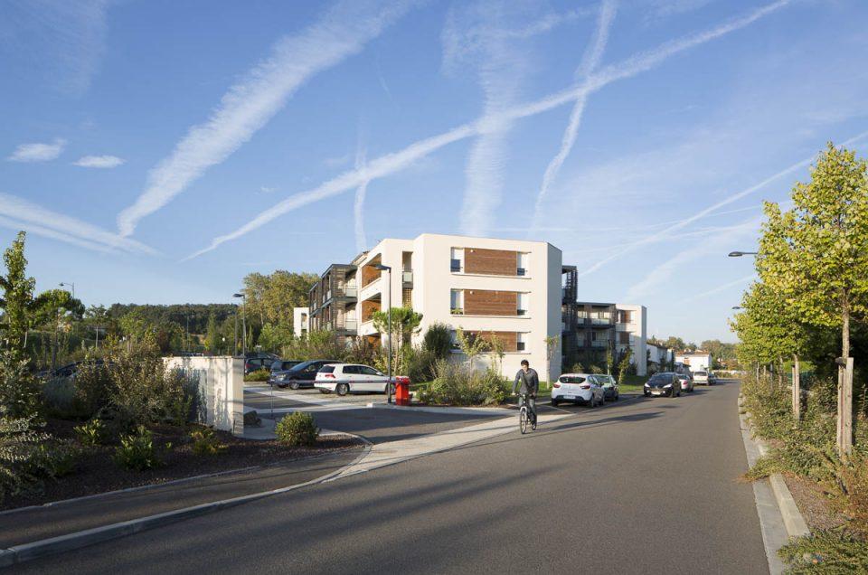 Architecture à Montrabé pour ARUA