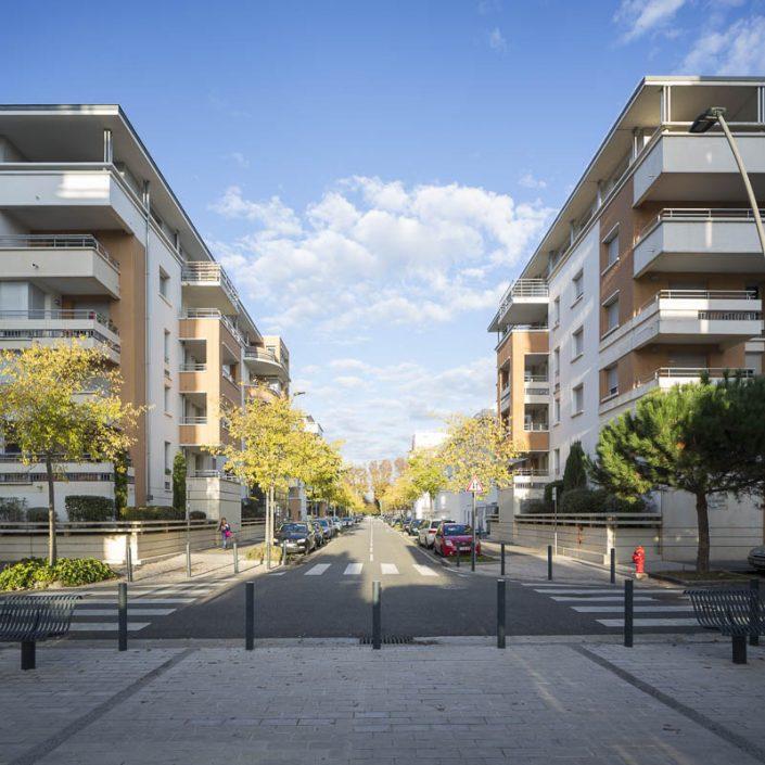 Résidences quartier Job - Photographe d'architecture