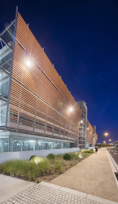 Aéroport de Toulouse-Blagnac  - Photographe Architecture nuit