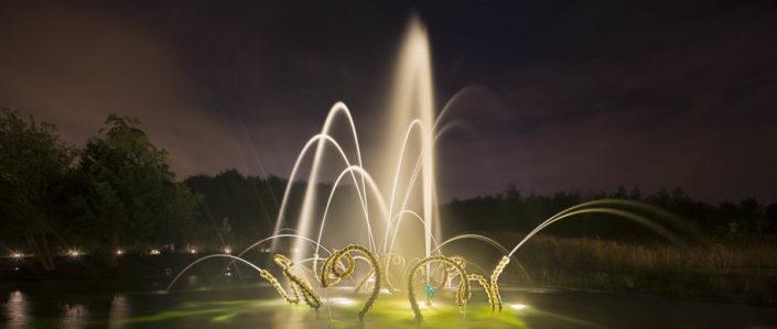 Jardins du château de Versailles - Photographe Eclairage