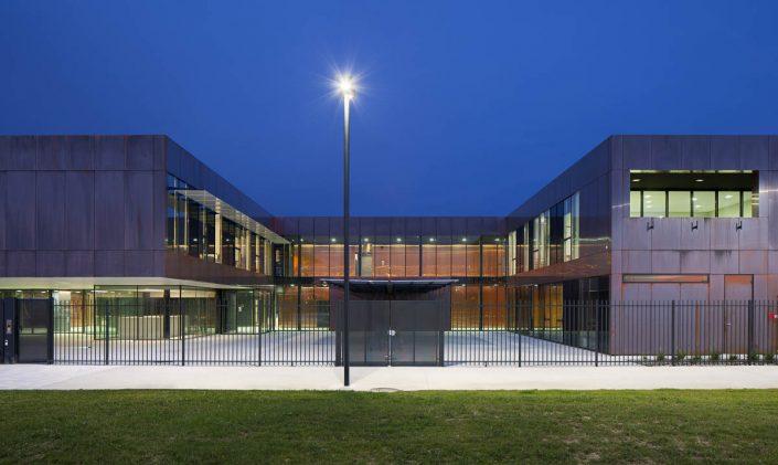 Collège de Labarthe-sur-Lèze - Photographe Architecture nuit