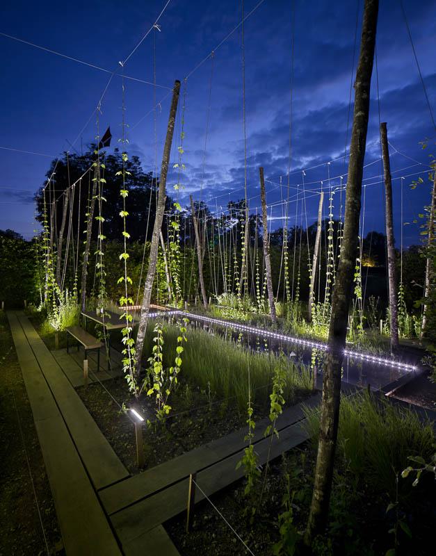 Jardins de Chaumont sur Loire - Photographe Eclairage