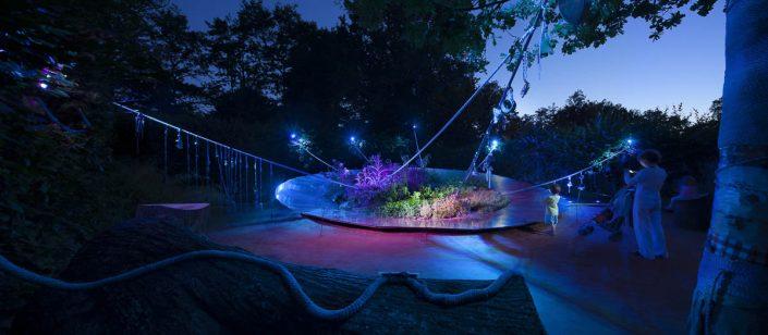 Festival des Jardins de Chaumont sur Loire - 2012 - Philips Eclairages - Photographe Eclairage