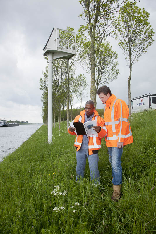 Portrait pour Spie - Ecluses aux Pays-Bas - Photographe corporate