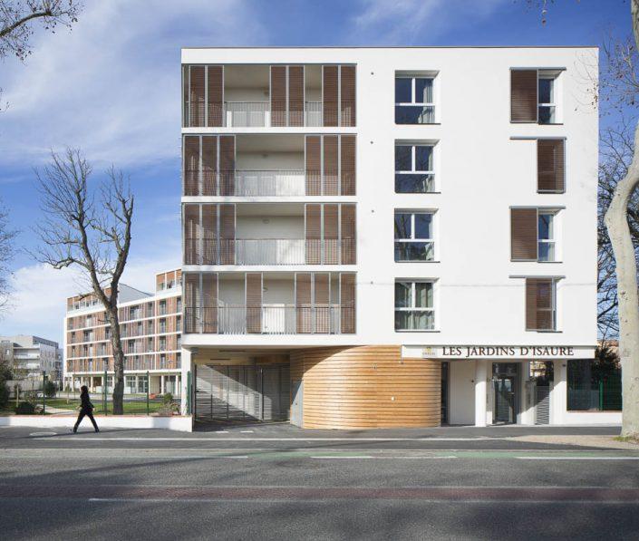 Résidence Les Jardins d'Isaure - Photographe d'architecture