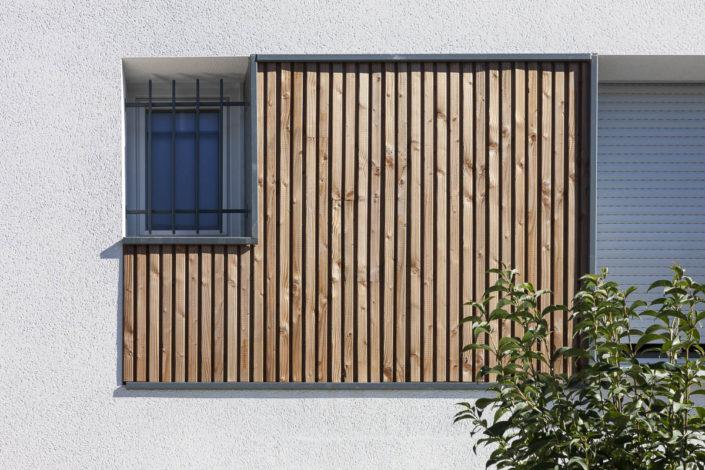 Résidence Le Paseo à Balma pour Vinci Immobilier - Photographe Architecture Détail