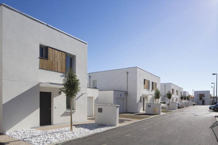Résidence Le Paseo à Balma pour Vinci Immobilier - Photographe d'architecture