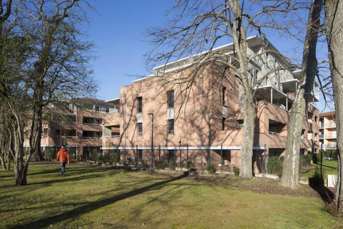Résidence Les Sénioriales à Castanet-Tolosan - Photographe d'architecture