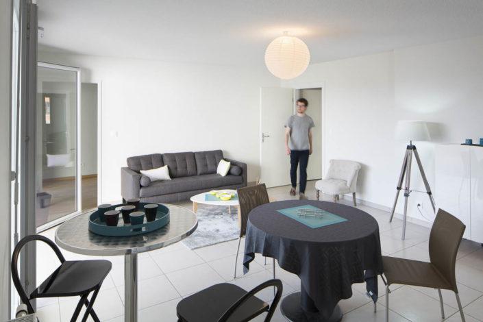 Résidence à Blagnac - Photographe Architecture Intérieure