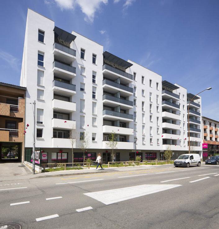 Résidence Garonne à Toulouse - Photographe d'architecture