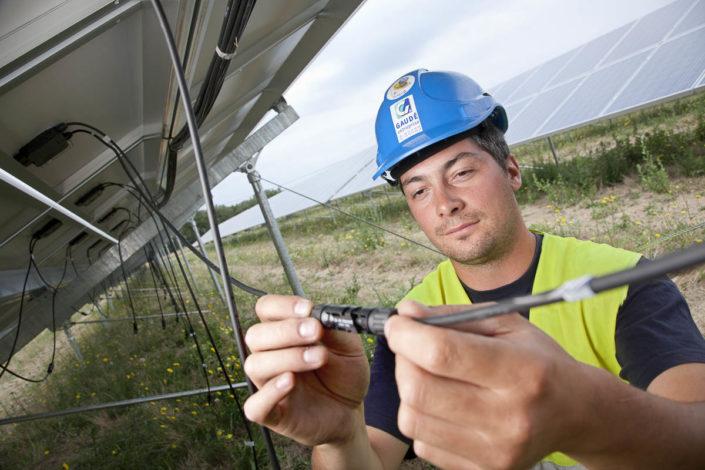Champ photovoltaïque de Montéléger - Photographe corporate
