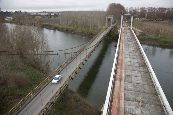 Pont Suspendu - Verdun sur Garonne - Photographe corporate