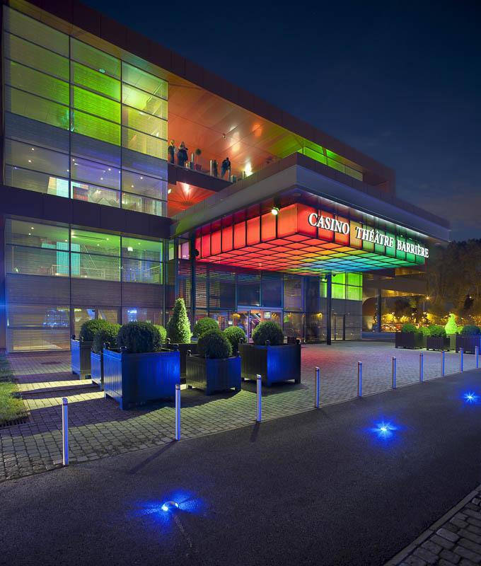 Théatre Casino Barrière à Toulouse - Photographe Architecture nuit