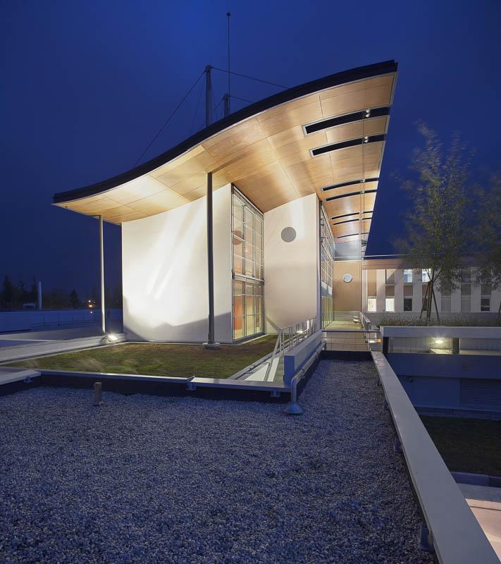 photographe architecture nuit - david aubert photographe