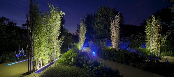 Festival des Jardins à Chaumont sur Loire - Photographe Eclairage
