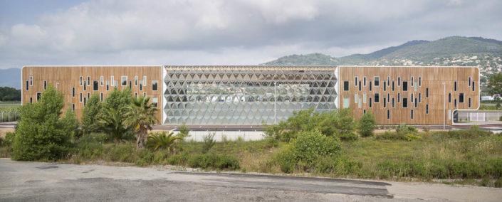 Aéroport de Cannes - Photographe d'architecture