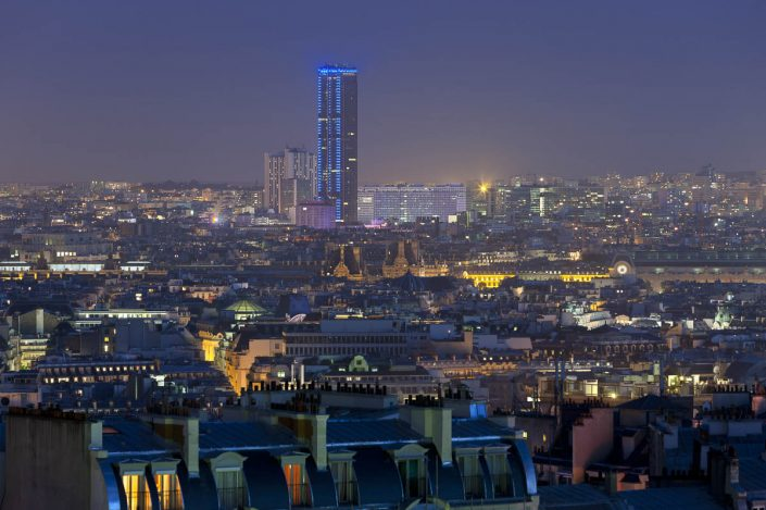 Tour Montparnasse - Photographe Architecture nuit