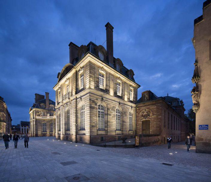 Place du Château - Photographe Eclairage
