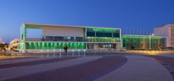 Palais des congrés de Saint Jean de Monts - Photographe Architecture nuit