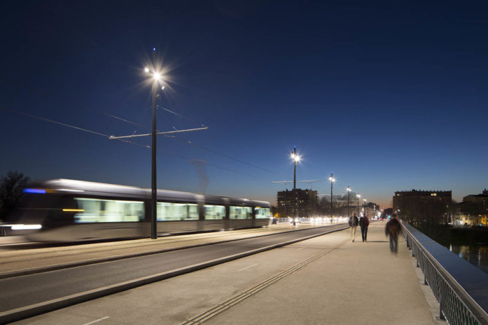 Tramway de toulouse - Photographe Eclairage