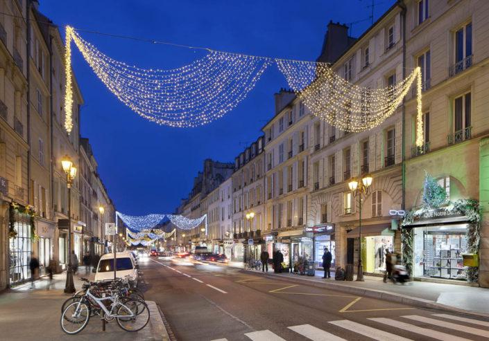 Illuminations de Noël à Versailles - Photographe Eclairage