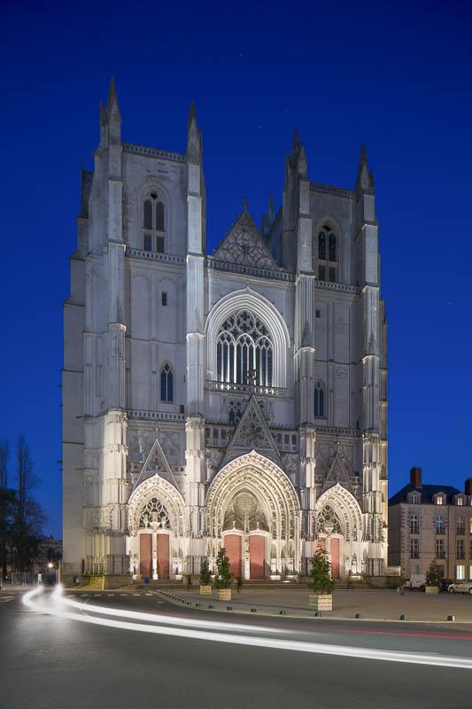 Cathédrale, Nantes - Photographe Eclairage