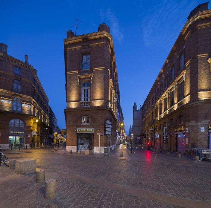 Capitole à Toulouse - Photographe Eclairage