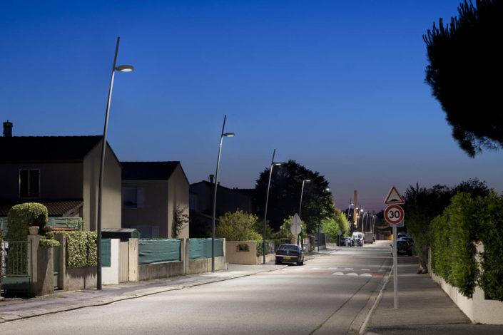 Eclairage public à Portet sur Garonne - Photographe Eclairage