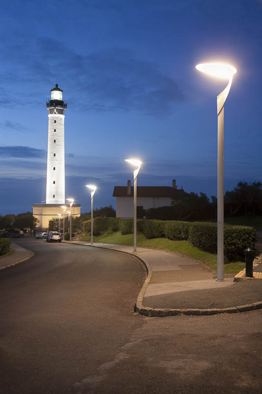 Eclairages phare de Biarritz - Photographe Eclairage