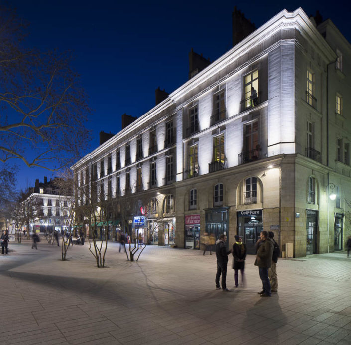 Place Bouffay, Nantes - Photographe Eclairage